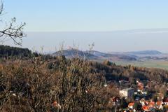 Blick auf die Wachsenburg vom Alteburgtrum