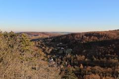 Alteburg - Schneckchen - Blick ins Tal der Gera