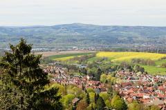Schloss Altenstein - Blick auf Schweina