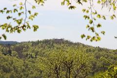 Blick zu Burg Liebenstein