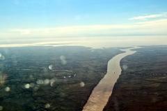 Ein Hauptarm des Río Paraná
