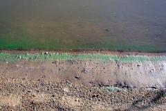 río Uruguay - Farbe am Ufer :(