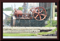 Dampfmaschine - ein größeres Modell in Tigre