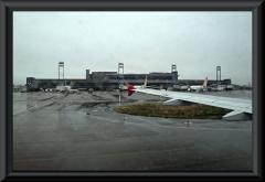 """Flughafen von Curituba - offensichtlich ist hier auch das """"große Wasser""""."""
