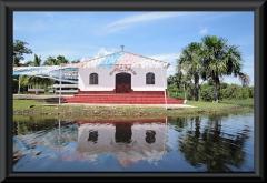 Die Kirche am Lago Janauacá