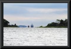 Blick zum Hauptstrom des Rio Negro