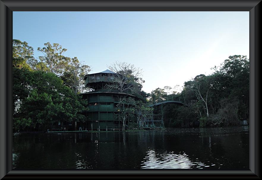 Amazon Towers Hotel - ein Turm von der Rückseite