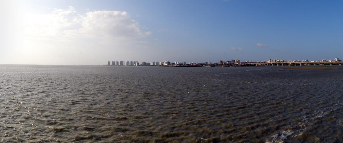 Blick auf den Stadtteil São Francisco