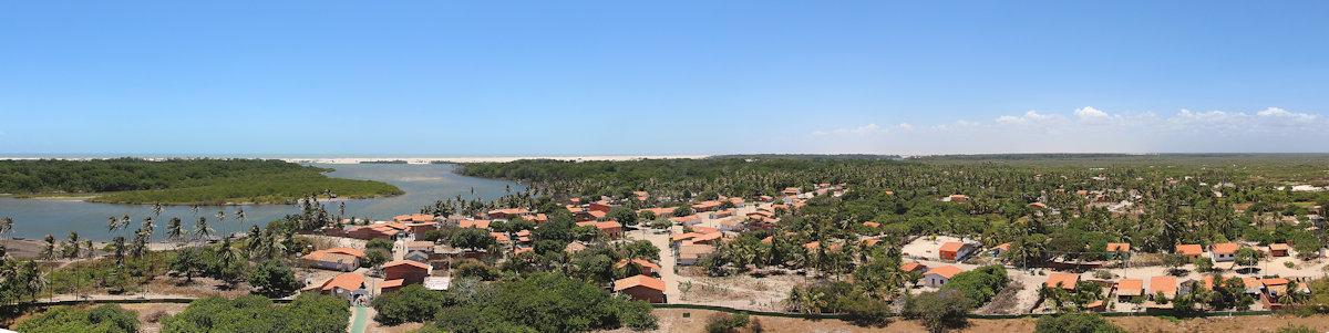 Blick vom Leuchtturm nach Nordwesten