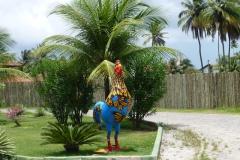 Das Huhn - Symbol für Porto de Galinhas