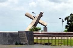 Das gefallen Kreuz