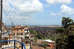 Blick zur Basílica do Senhor do Bonfim