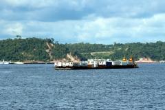 Manaus vom Amazonas aus