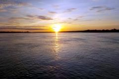 Rio Solimões bei Coari, am Morgen