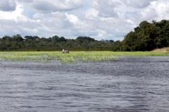 Auf dem Lago Aruã