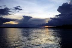 Abend am Lago Aruã