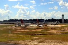 Nicht alle Flugzeuge kommen heil in Manaus an ;-)