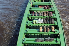Ein Kanu für die Schuhe ;)