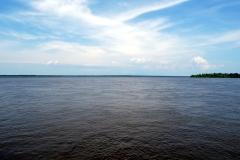 Am Zusammenfluss von Rio Negro und Rio Branco