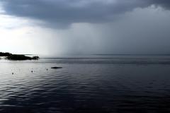 Rio Negro - der Regen holt uns ein