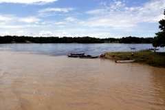 An der Mündung des Rio Copeá in den Rio Solimões