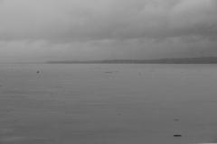 Rio Solimões bei Regen