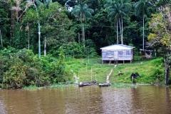 Siedlung am nördlichen Lago Uará