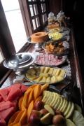 Mal ein Blick auf das Frühstücksbuffet