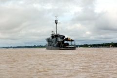 Kolumbianischer Grenzposten