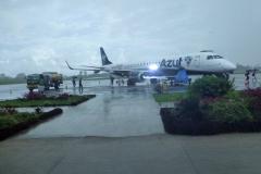 Auf dem Flughafen von Tabatinga