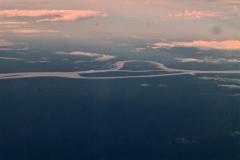 Rio Solimões und Ihla Maraitá