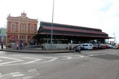 Restaurierte Markthalle