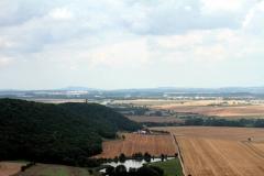 Blick von der Wachsenburg auf die Mühlburg