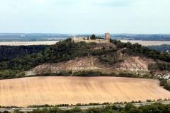 Burg Gleichen vom Süden