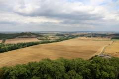Blick von der Mühlburg nach Osten