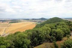 Blick von der Mühlburg zur Wachsenburg