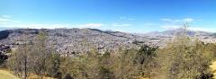 Blick von El Panecillo auf Quito nach Südwest