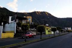 Baños - Blick zum Vulkan Tungurahua