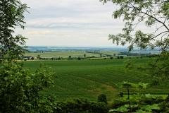 Blick ins Thüringer Becken
