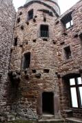 Burg Hanstein - Südturm von innen