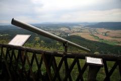 Blick vom Heldrastein