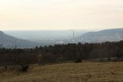 Jena Windknollen - Blick nach Jena