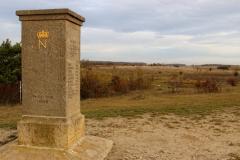 Jena Windknollen - Napoleonstein - Blick auf das Schlachtfeld von 1806
