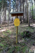 Informationstafel am Goethewanderweg
