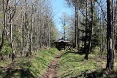Model einer alten Jagdanlage