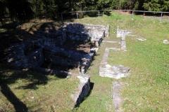 Ausgrabung der Überreste einer Jagdanlage