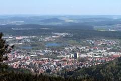 Blick auf Ilmenau