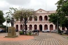 Asunción - Cabildo und Denkmal Juan de Zalazar