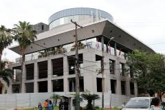 Asunción - teilweise zerstörtes Parlamentsgebäude
