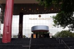 Asunción - Eingang zum Parlament